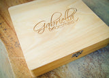 Wedding Letter Box-personalized wood box-EngraveMeThis