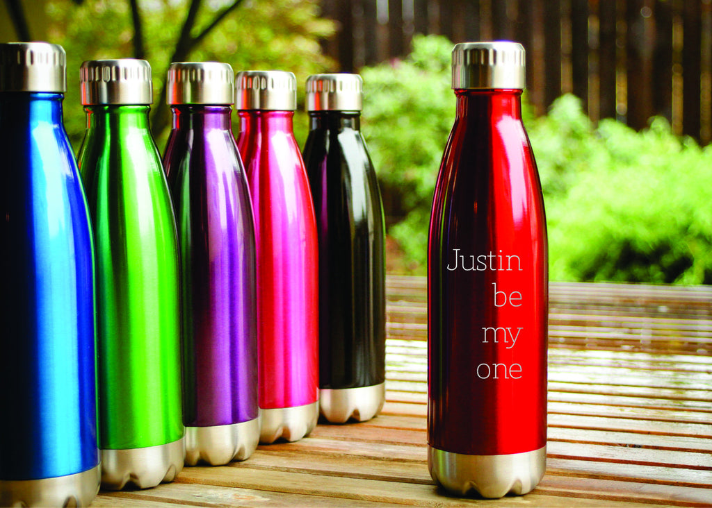 Personalized Stainless Steel Water Bottle From Engravemethis