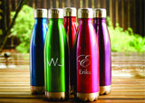 Stainless Steel Insulated Water Bottle-personalized water bottle-EngraveMeThis