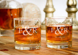 Lowball Glasses-personalized rocks glasses-EngraveMeThis