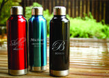 Classic Stainless Steel Insulated Water Bottle-personalized water bottle-EngraveMeThis