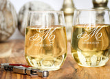 Wine Tumblers-personalized wine glasses-EngraveMeThis