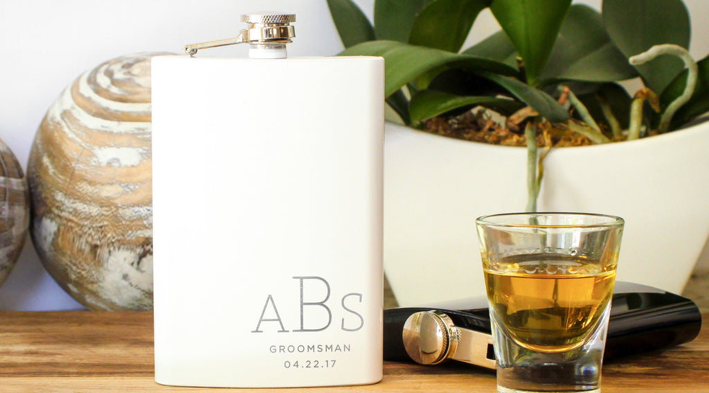 custom engraved personalized hip flask