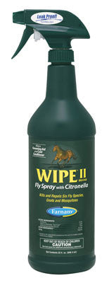 Wipe II Citronella Fly Spray