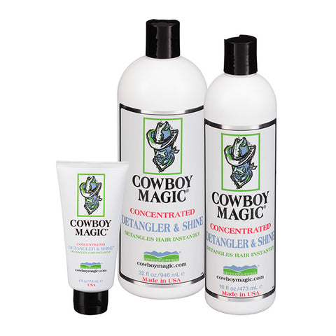 *Cowboy Magic Detangler & Shine