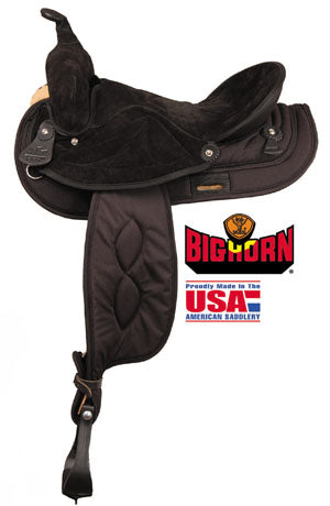 Big Horn Synthetic Gaited No. A00605, 606 Black or Brown