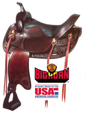 Big Horn Walking Horse Saddle A01701