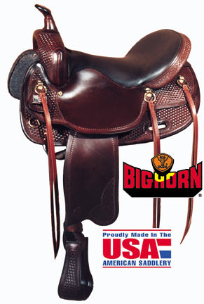 Big Horn Walking Horse Saddle A01700