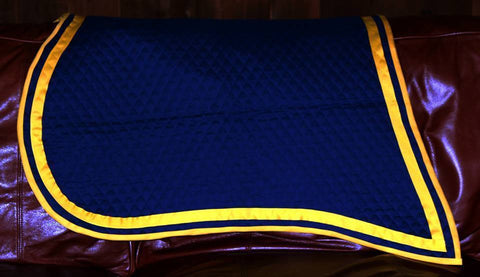 Civil War Shabraque (union saddle blanket)
