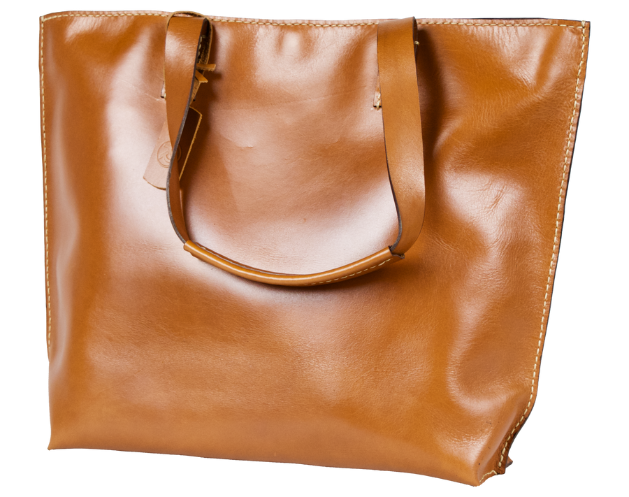 Cloudy Amber Tote Bag  - Limited Edition - Handbag Charms Leather Bag - Handbag THEMAKERWORLD TheMakerWorld