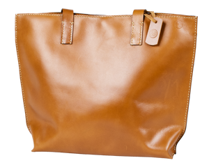 "Cloudy Tote in Amber w/13"" Laptop Sleeve, Handmade, Minimalist, Large - Limited Edition - Handbag Charms Leather Bag - Handbag TheMakerWorld TheMakerWorld"