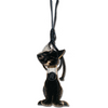 Fringy Feline | Handbag Accessory and Keychain | Car Mirror Charm - TheMakerWorld