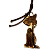 Fringy Feline | Handbag Accessory and Keychain | Car Mirror Charm - Handbag Charms  - Handbag TheMakerWorld TheMakerWorld