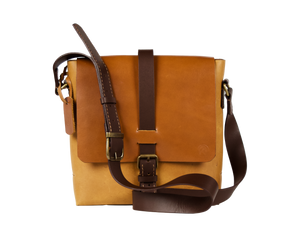 Amber Terra-Maxi Satchel - Limited Edition - Handbag Charms Leather Bag - Handbag THEMAKERWORLD TheMakerWorld
