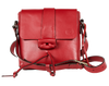 Nimble Mini Saddle in Luscious Red, Small Crossbody Handmade Purse, Fine Leather, Handsfree - TheMakerWorld