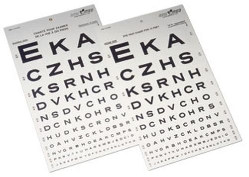 Snellen Eye Chart Diamond Athletic