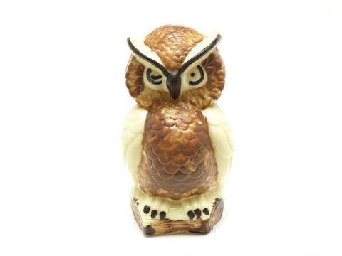 Large chocolate owl