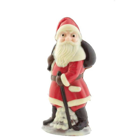 Handpainted Father Christmas in red - large