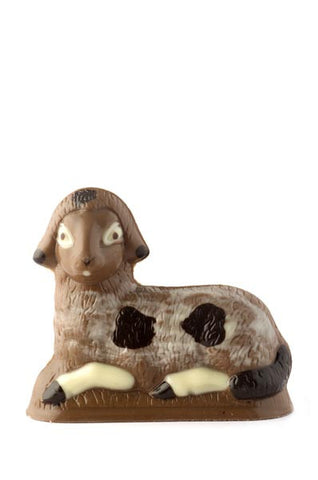 Milk chocolate lamb