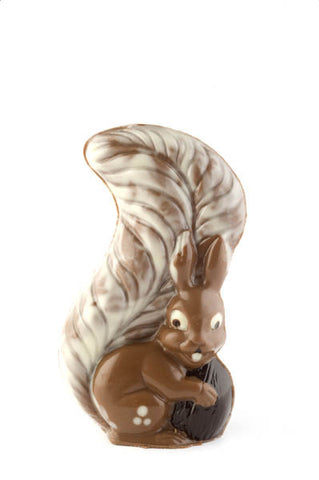 Milk chocolate squirrel