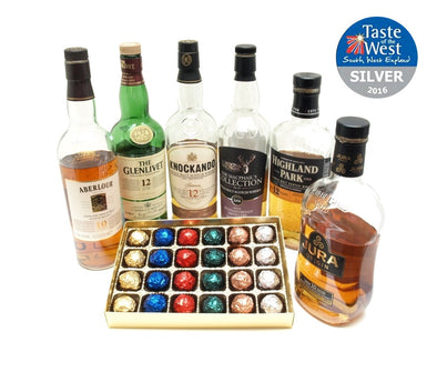 24 Malt Whisky Liquid Centre Chocolates   Millennium Collection.