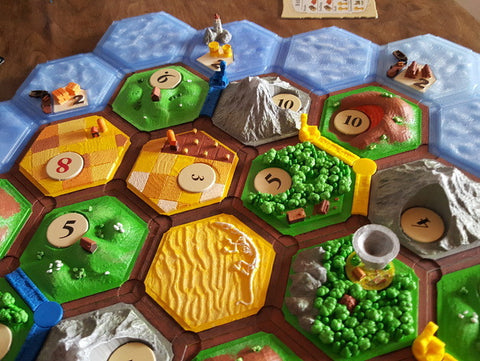 photo regarding Settlers of Catan Printable titled Settlers of Catan (Magnetic)