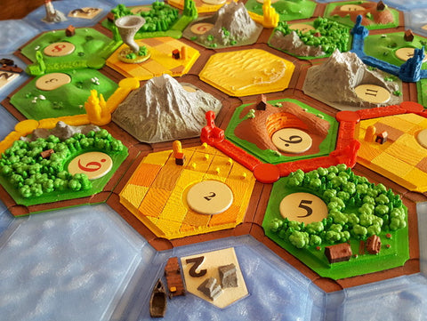 picture regarding Settlers of Catan Printable identified as Settlers of Catan (Magnetic)