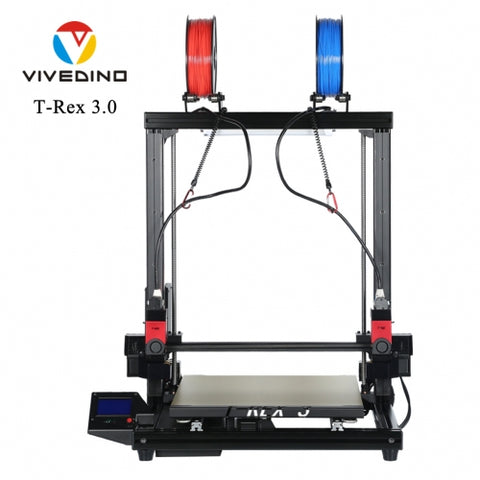 VIVEDINO T-Rex 3.0 Multi-function Big Size 3D Printer - 3D Printer Universe
