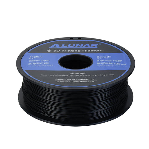 Alunar PLA Filament 1.75mm 1kg - 3D Printer Universe