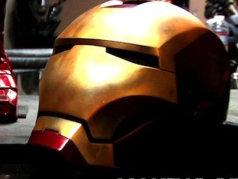 Iron Man Mark III Life-size Helmet - 3D Printer Universe