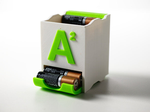 Stackable Battery Holders - 3D Printer Universe