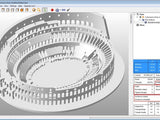 Roman Colosseum Completley Detailed See The World - 3D Printer Universe