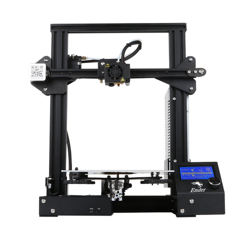Creality Ender 3 3D Desktop DIY Printer Kit - Ship From USA - 3D Printer Universe