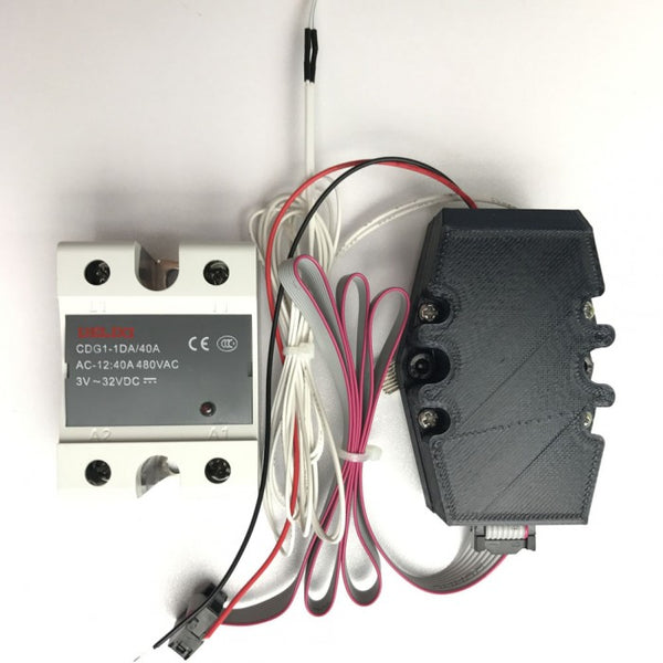 Solid State Relay(SSR) Upgrade for Formbot T-Rex 2+ Heated Bed