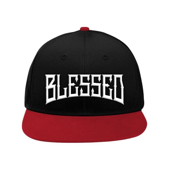 BLESSED SNAPBACK - Blk/ Red - Hat