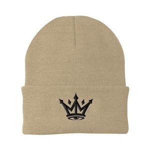 CROWN BEANIE - Khaki - Headwear