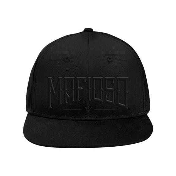 GUN METAL SNAPBACK - Black - Hat