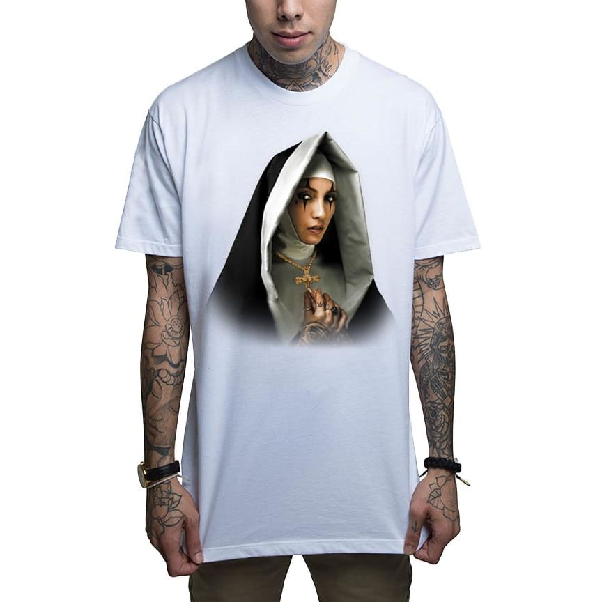 MOTHER MERCY - S / White - T-Shirt