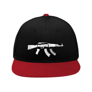 PLATED SNAPBACK - Blk/ Red - Hat
