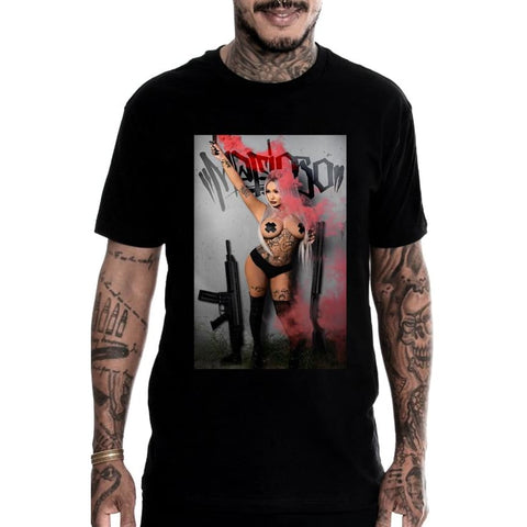 RAQUEL SIGNATURE - S / Black - T-Shirt