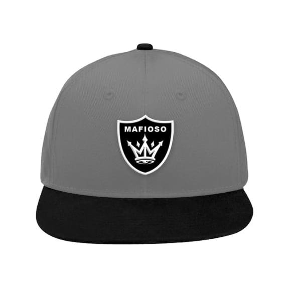 SHIELD SNAPBACK - Lt. Gray/ Blk - Hat