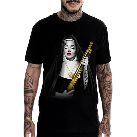 SISTER MONROE GOLD - S / Black - T-Shirt