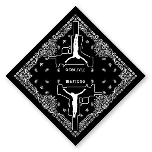 Uzi Prayer Bandana - Black - Mask