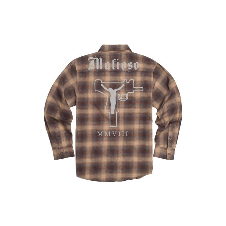 UZI PRAYER FLANNEL - Longsleeve