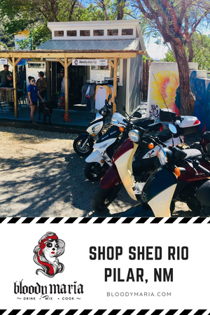 GET READ TO SHOP TAOS !! SHED RIO is OPEN for Biz