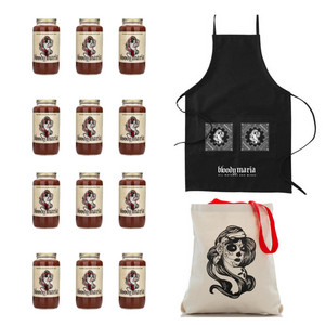 Apron + Tote + Case of Mixer (12 Jars)