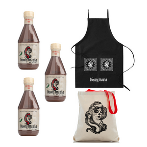 Apron + Tote + Squeeze Party Sampler (3 To-Go Mixers)