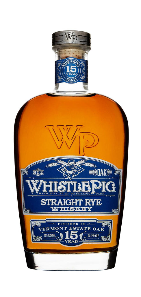 Whistlepig 15 Year Rye is Here
