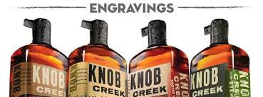 Knob Creek Tasting and Custom Engraving Event: Dec. 5th 5 pm-8 pm