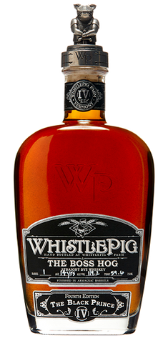 "Whistle Pig Boss Hog IV ""The Black Prince"""